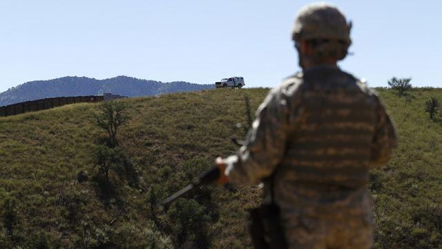 Pentágono: Despliegue de tropas en la frontera entre EE.UU. y México costará 210 millones de dólares