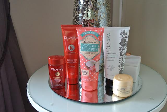 Summer Holiday Beauty Products Loreal Professionnel Kerastase Senspa Dirty Works Sainsburys Waitrose