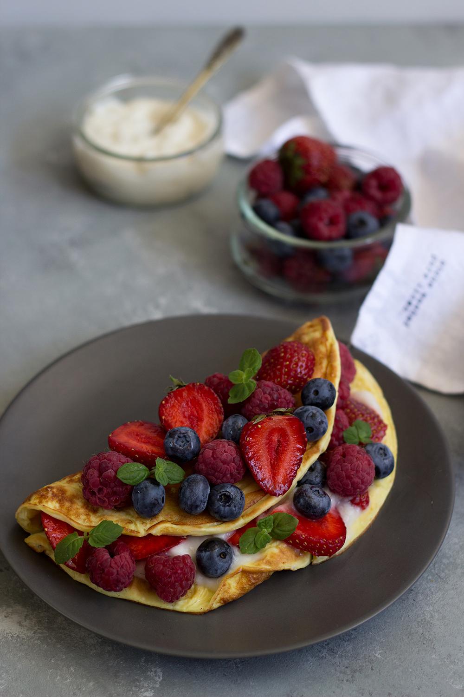 Ekspresowy omlet waniliowy