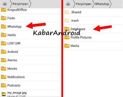 Tutorial Cara Mengembalikan Obrolan Terhapus Di Aplikasi Whatsapp