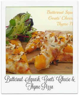 This homemade pizza is absolutely delicious having been topped with roasted butternut squash which works incredibly well with goats' cheese.