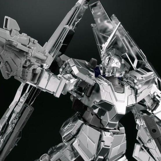 P-Bandai: HGUC 1/144 Unicorn Gundam Phenex Type RC [Unicorn Mode] Silver Coating Ver. - Release Info