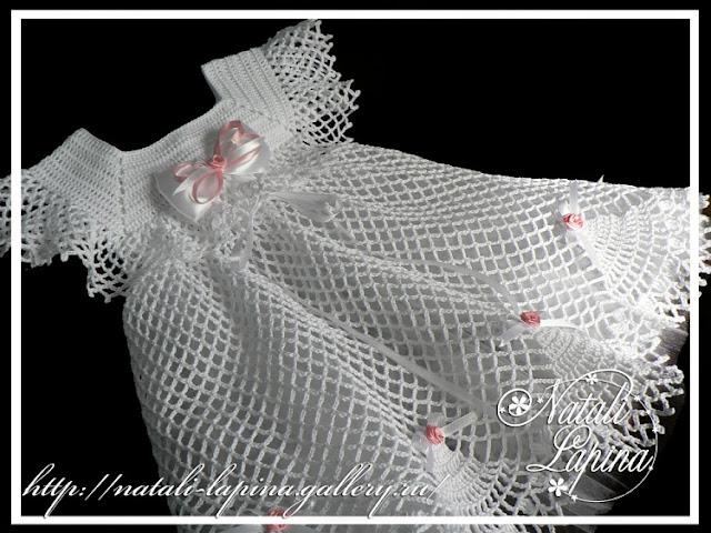 wzory sukieneczek szydełkowych