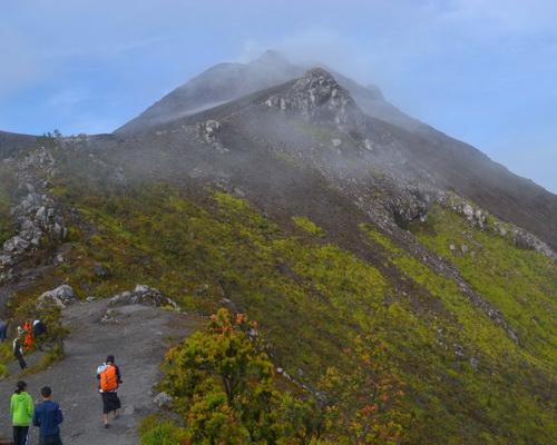 Travel.Tinuku.com Climb Mount Merapi in Sleman Yogyakarta and Selo Central Java
