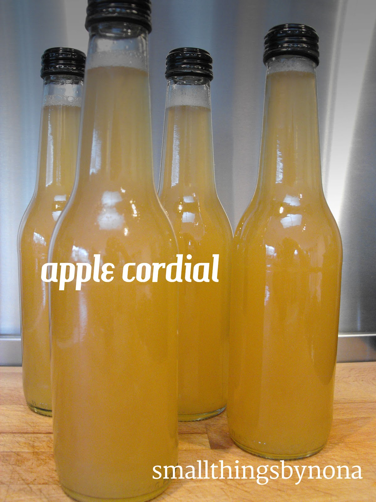 Apple Cordial A Recipe