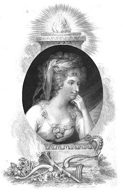 Mrs Fitzherbert  from La Belle Assemblée (1810)