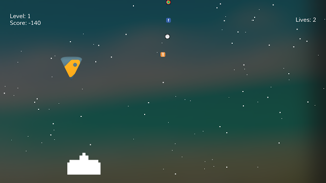 SpringInvaders is a jailbroken  cydia tweak  that turns your SpringBoard into a classic arcade game