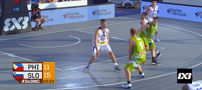 Slovenia def. Philippines, 21-14 (REPLAY VIDEO) FIBA 3x3 World Cup 2017