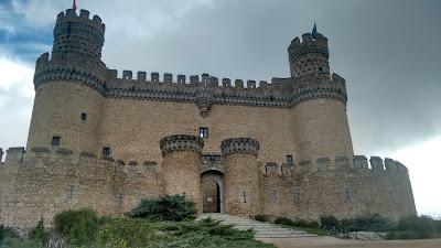 Manzanares el Real. Castillo