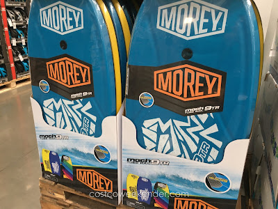 Hit the surf with the Wham-O Morey Mach 9TR Body Board