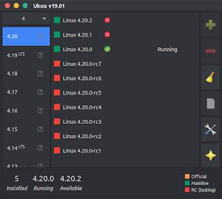 UKUU Kernel update utility