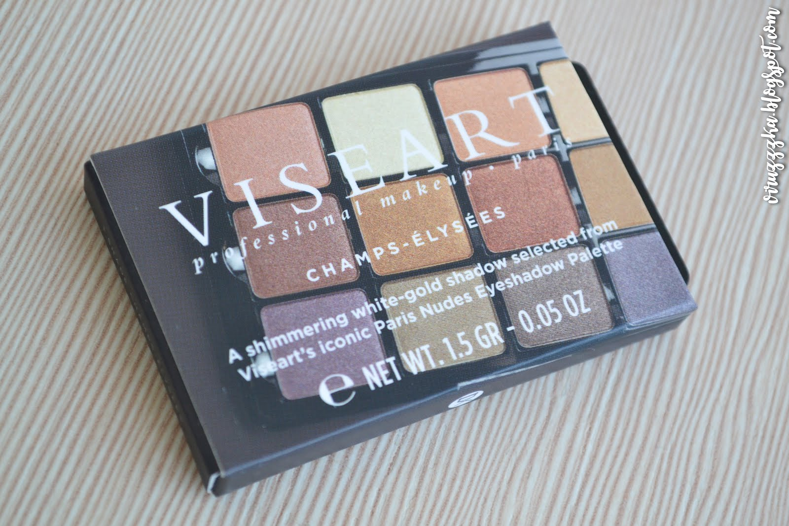 VISEART 06 Paris Nude Eyeshadow Champs-Elysees Review