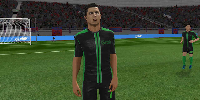 Kit Dream League Soccer Seragam Ojol Grab