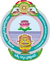 Acharya Nagarjuna University Timetable 2017