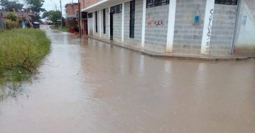 Inundación en Moyobamba por lluvias deja 50 damnificados y más de 300 afectados en la región San Martín