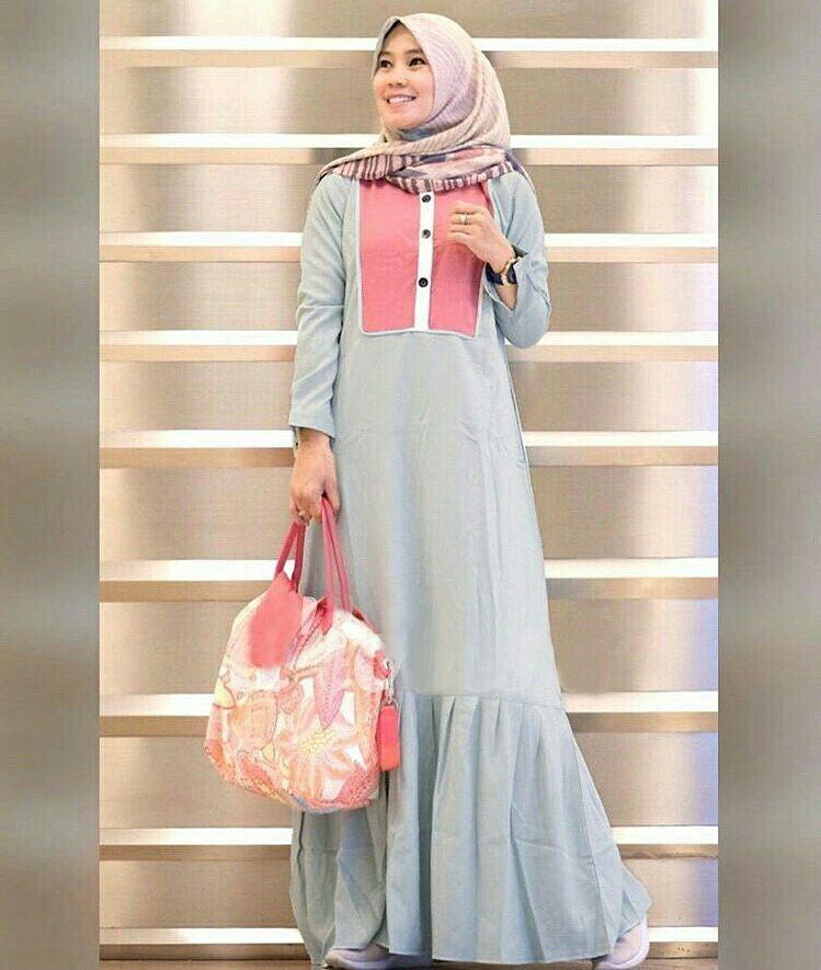 Fatiyah Maxi Gamis Premium Quality