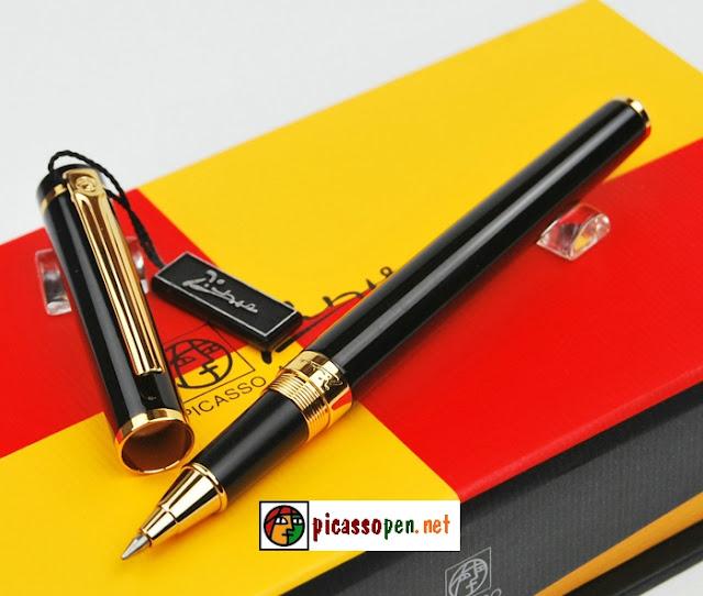 Bút ký cao cấp Picasso 908 - Bút dạ bi màu đen
