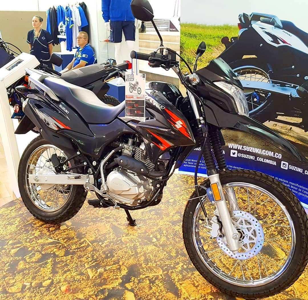 Suzuki resmi merilis motor dual Adventure DR150 di Kolombia, Indonesia kapan ?