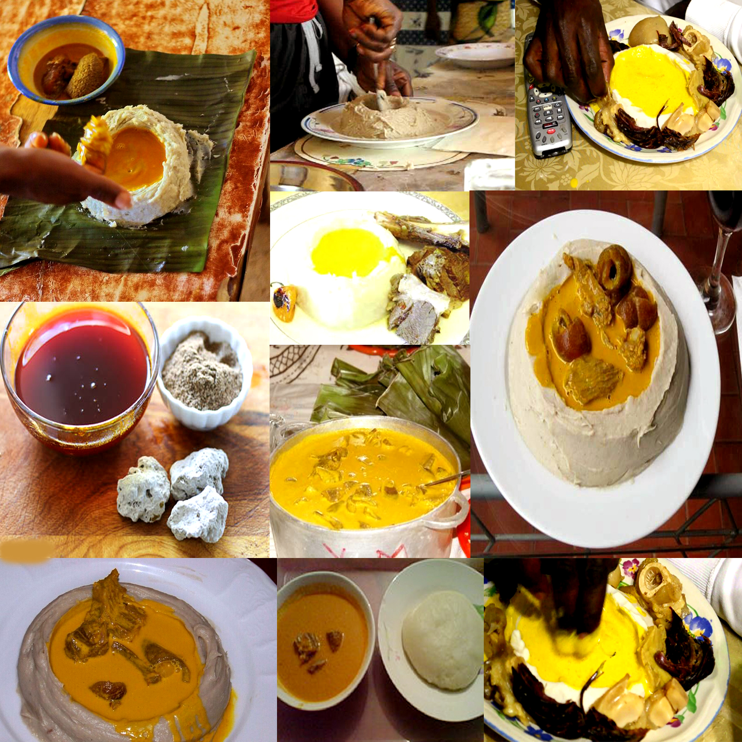 ALL AFRICAN DISHES: CAMEROONIAN RECIPES (ACHU AND YELLOW SOUP