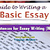 Useful Sentences for Essay Writing (Must learn!)