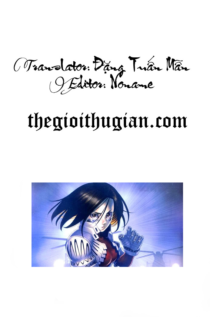 Battle Angel Alita chapter 38 trang 43