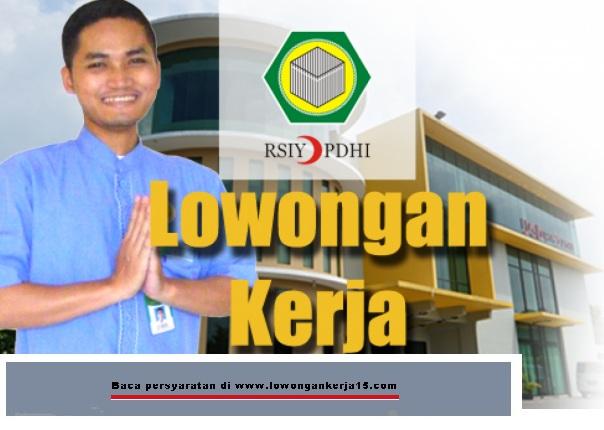 lowongan kerja tenaga kesehatan rumah sakit islam yogyakarta