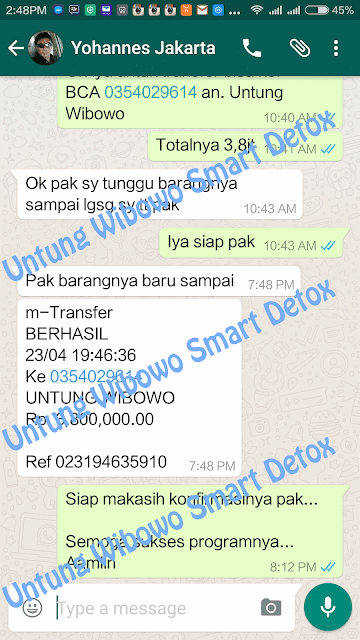 Harga Paket Smart Detox Di Sidoarjo Jawa Timur