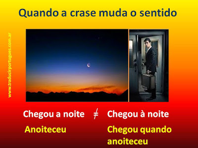 crase, acento grave, portugués, traducciones, traductora, tradutora, espanhol