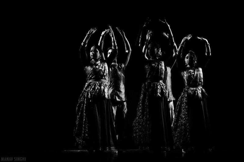 Artists from Delhi Kathak Kendra
