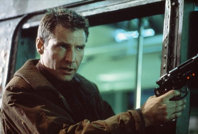 """Le """"Blade Runner"""" Rick Deckard (Harrison Ford) dans Blade Runner"""
