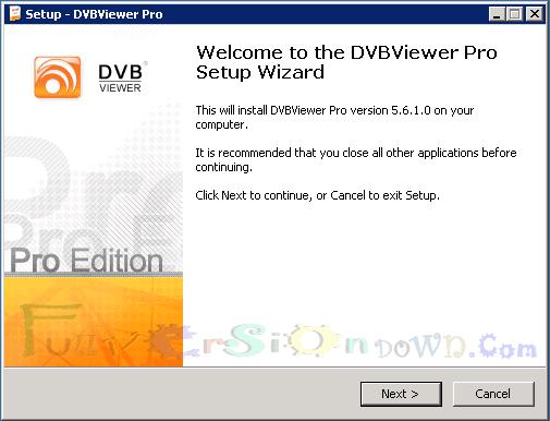 DVBViewer Pro Full Version