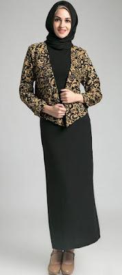 Model Seragam Guru Muslimah Wanita Modern