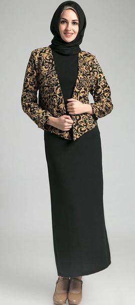 Model Baju Batik Kerja Guru Muslimah