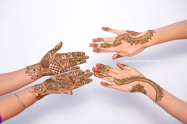 Indian henna ceremony