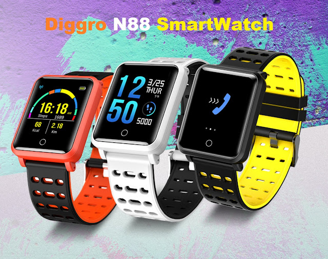 Diggro N88 Sports SmartWatch Features