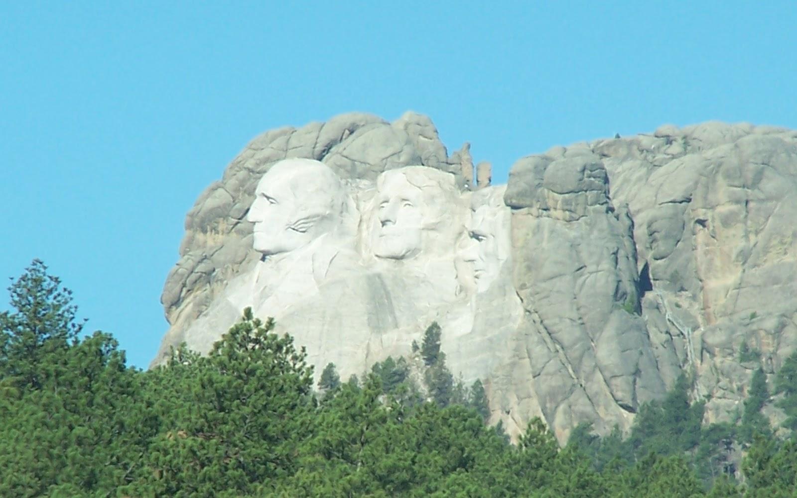 We Three Teachers Mount Rushmore