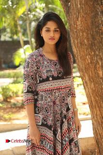 Actress Sunaina Latest Stills in Floral Dress at Pelliki Mundu Prema Katha Trailer Launch  0046.JPG