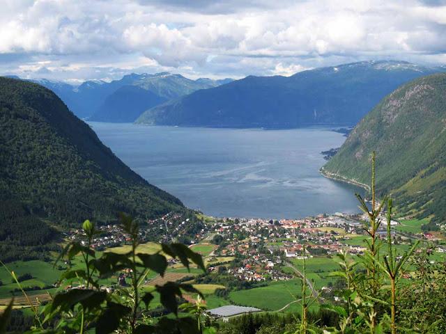 Sognefjord - Noruega