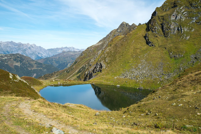 Seetalwanderung und Klettersteig Hochjoch  Silvretta Montafon 19