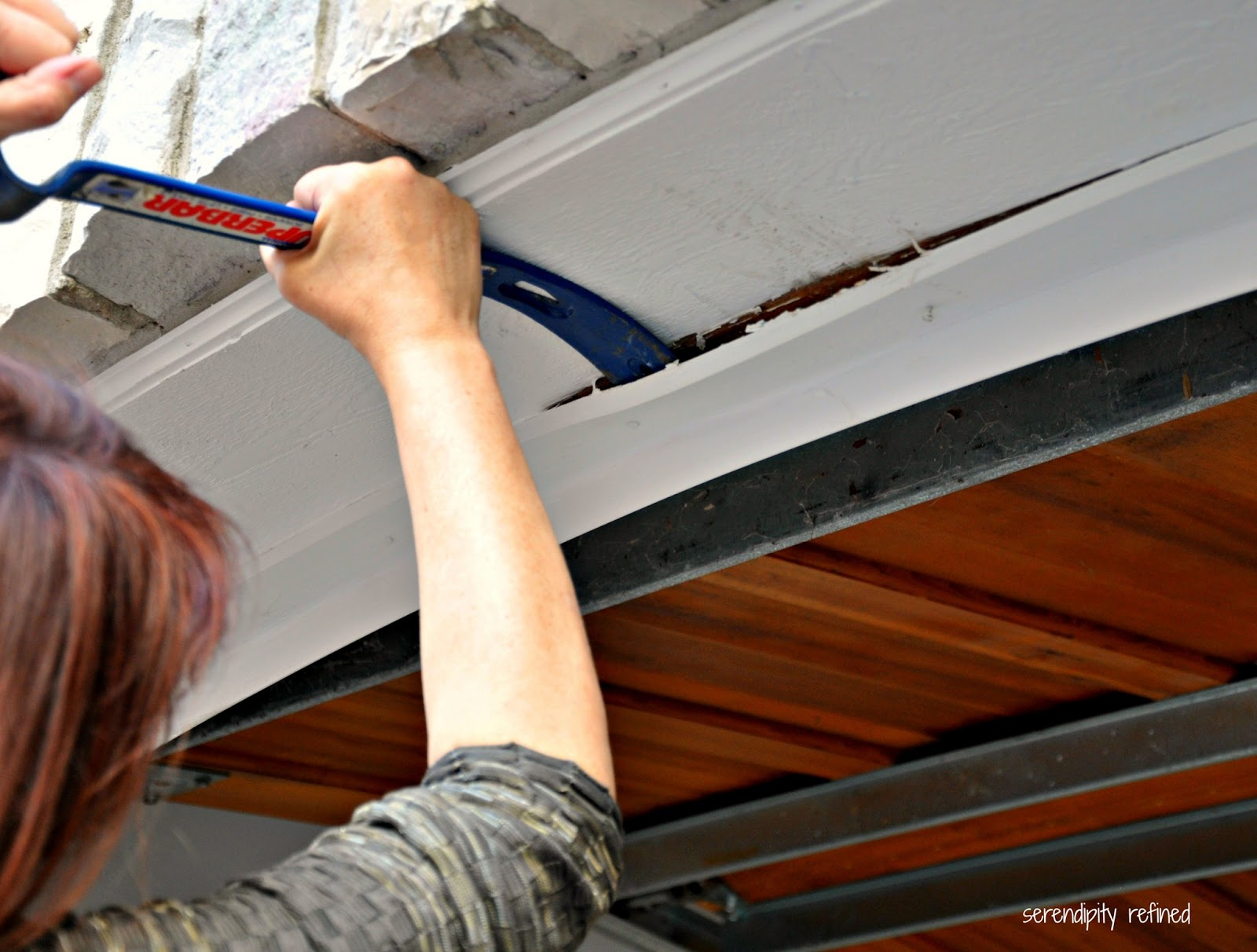 Serendipity Refined Blog How To Replace A Garage Door