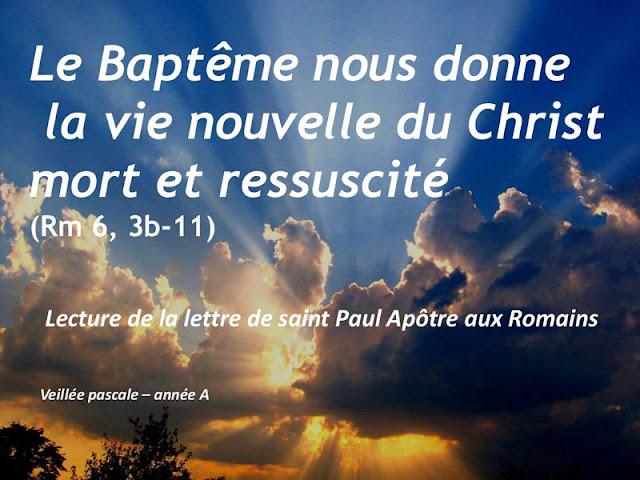 """Diaporama : """"baptisé dans la mort"""""""