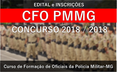 Edital CFO 2018