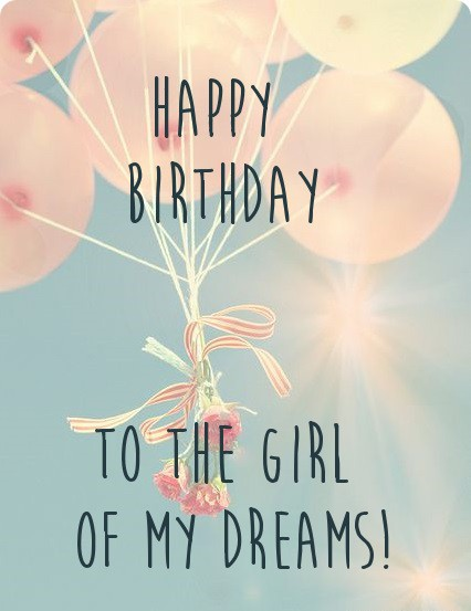 Happy Birthday Girlfriend HD Wallpapers Free Download