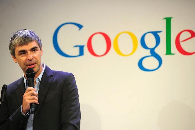 Larry Page Salah Satu Penemu Google