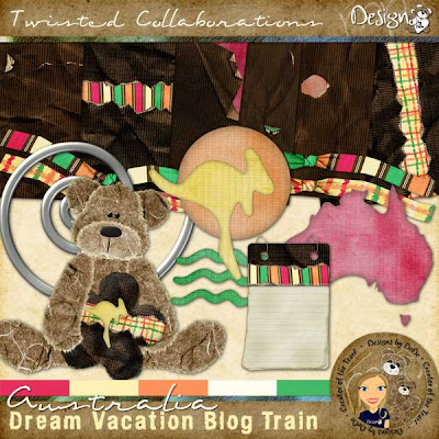 Dream Vacation Blog Train - Australia by DeDe Smith (DesignZ by DeDe)