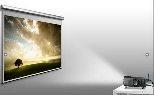 Hiện tượng hình thang máy chiếu Panasonic