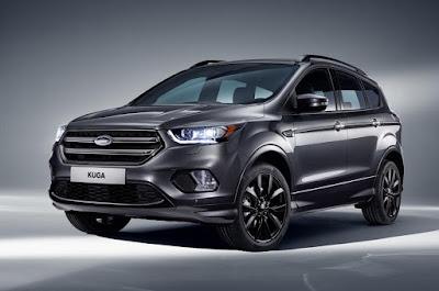 2017 Ford Kuga front profile image 02