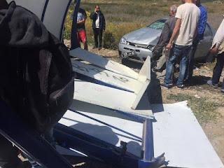 اصابة 5 أشخاص من بينهم 4 تلاميذ اثر انزلاق سيارة بمنطقة عين بيطار الواقعة بين معتمديتي جرزونة ومنزل جميل
