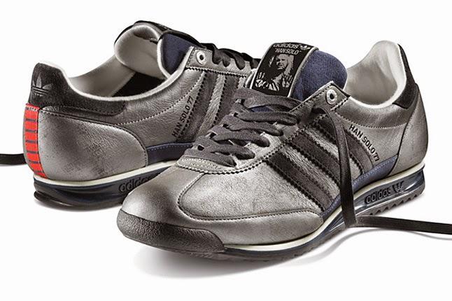 best sneakers 255ad 04f18 Questa è forse una delle più particolari e geniali, quella ispirata a C1P8  e D3BO. Riprendono per metà, ognuno dei robot. Forse sarebbero state ancor  più ...