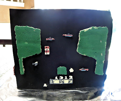 Retro Video Game Cake - River Raid Side